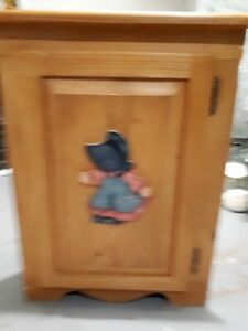 Hand made craft cabinets plus out door garden items, mirror's