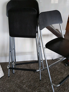 Ikea foldable counter stools New