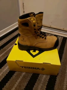 Terra safety work boots composite toe size 12. Half price!!!!