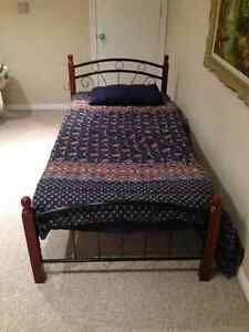 Bed frame and mattress Windsor Region Ontario image 3