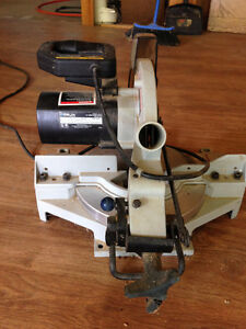 """DELTA 10"""" COMPOUND MITRE SAW - MOVING!  MUST SELL!"""