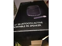 "12"" Bluetooth active portable PA Speaker"
