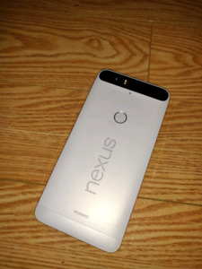 HUAWEI NEXUS 6P 128 GB, UNLOCKEDFROST WHITE MINT CONDITION