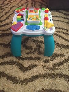 Table musicale pour bebe Leap Frog