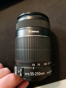 Canon Zoom Lens EFS 55-250mm 4-5.6