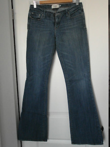 ABERCROMBIE & FITCH: Madison Boot Cut Jean in Dark Indigo sz 6L