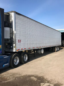 7 Reefer Trailers for sale from 2008 through 2014 MINT Condition
