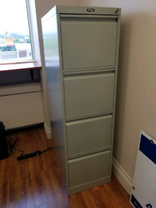MUST GO: Large Metal Filing Cabinet