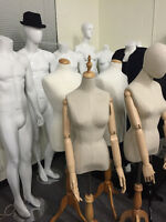 bust form/mannequins/ ladies form/male forms