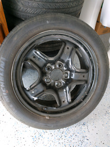 225/50R17  Michelin summer tires and rims