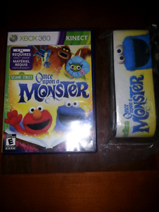 Jeux xbox 360 Sesame Street once upon a monster