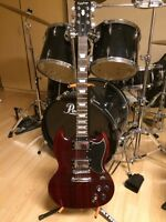 Epiphone SG G-400 Wine Red