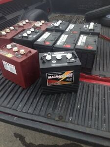 Magnacharge GC-225 6 volt deep cycle Batteries $135.