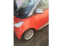 SMART CAR, passion for two, orange, lady owner