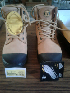BNIB Tiger Safety slip resistant woman's work boots size 8 $50.
