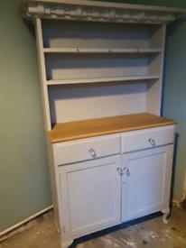 Light grey dresser/drinks cabinet/larder cupboard