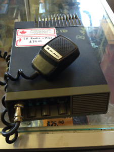 10-4 Good Buddy! Relive your 70's past with CB RADIO!