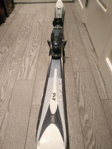 Used woman ski and boots size 24.5