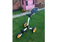 Axglo Trilite Golf Trolley/Cart (used twice)