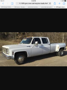 1970 GMC C/K 3500 Dually Pickup Truck