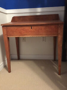 Antique Slant-top School Desk Oakville / Halton Region Toronto (GTA) image 1
