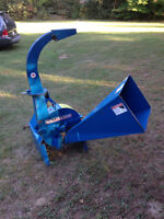 Wallenstein wood chipper