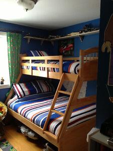 Birch bunkbeds