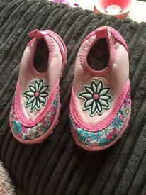 Mothercare size 4 sea beach swim water pool water shoes