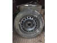 195/65/15 4x100 brand new continental tyre and rim Renault Clio, Megane, Scenic etc