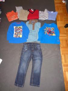 Vêtements pour garçon (automne-hiver) 4 ans