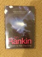 IAN RANKIN signed copy-- Death Is Not The End