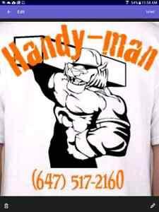 Handyman services 647 517 2160