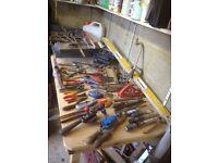 Job lot old tools etc