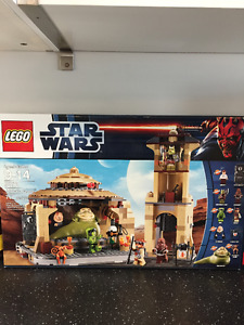 Lego Star Wars Jabba's Palace 9516 717 pieces Rare and Retired