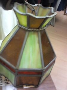 Stained Glass Lamps in HEARTBEAT Thrift Store/BayView Mall Belleville Belleville Area image 2