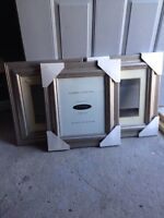 New 3 matching picture frames