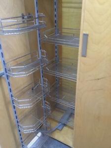 Kitchen Wire Storage Unit