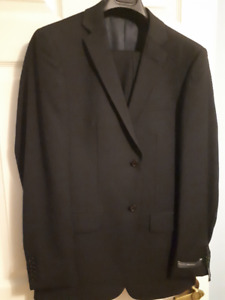 Slim Fit Wool Suit - 38R (New with tags) - Perry Ellis
