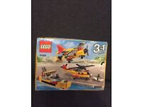 Lego creator cargo ship plane and helicopter brand new in box - new release Lego 31029