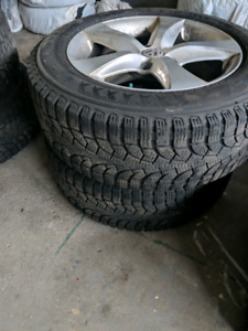 4 Winter  pirelli  sur mag original 255/55/R18