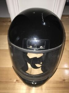 Motorcycle Helmet Black Dot With Bag XS SIZE