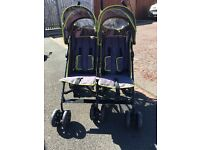 Baby Start Double buggy pushchair