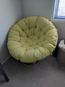 Papasan Lounge Chair