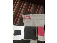 New Boxed Sky Router Black