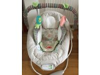 Baby bouncer / rocker comfort and harmony brand with toys
