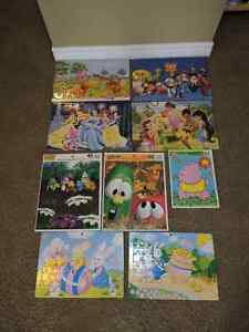 Lot of 9 puzzles London Ontario image 1