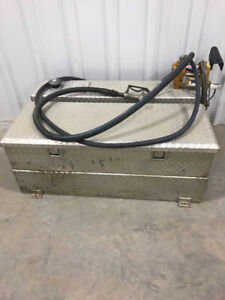 Fuel Tank and Tool box combo