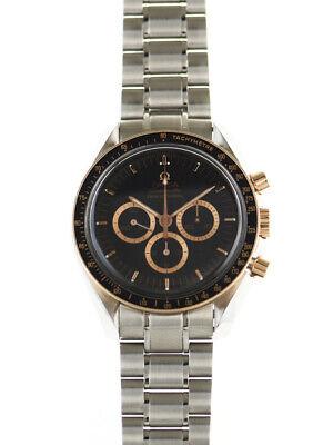 Omega Speedmaster Professional Apollo 15 3366.51 Moon. Rose Gold.Mens Watch
