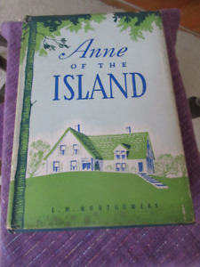 Anne of the Island - L.M. Montgomery 1st Canadian Edition 1942