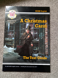 GCSE text guide for a Christmas Carol